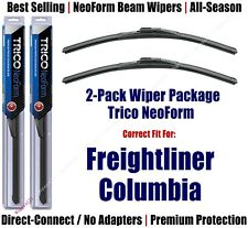 2pk Super-Premium NeoForm Wipers 2000-2016 Freightliner Columbia 16220x2