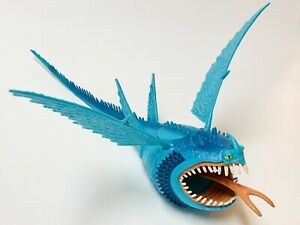 """How To Train Your Dragon Blue Thunderdrum Dreamworks 2013 Approx 13"""" - NO Discs"""