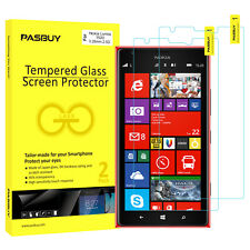 Screen Protector [2Pack PASBUY Retailbox] Tempered Glass for Nokia Lumia 1520