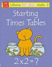 Usborne Sticker Math: Starting Times Tables by Rachel Wells and Fiona Watt (2004