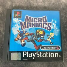 Micro Maniacs ps1 Playstation 1 PAL Game komplett Black Label Racer