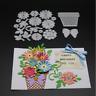 Flower Pot Metal Cutting Dies Scrapbooking Album DIY Decoration stencils dies