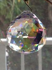 40mm Ab Swarovski Crystal Disco Ball Prism Suncatcher Sparkle Size of Golf Ball