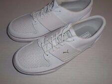 Puma  El Ace 2 White/Gray Big Kid Athletic Sneakers Boys Sz 3.5 Medium (EUR 35)