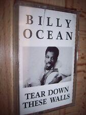 1988 Billy Ocean Tear Down These Walls Cassette