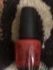Opi Nail Color Polish Off With Her Red Alice in Wonderland Htf Bn Nl A55