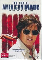 American Made DVD NEW Region 4 Tom Cruise
