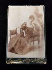 Rare Princess Victoria Kaiulani Cleghorn (1875-1899) Cabinet Photo Hawaii
