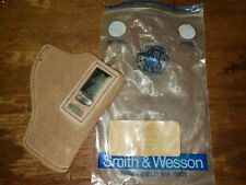 """L@@k!!! Smith & Wesson 09-32 Inside Trouser Holster Suede Leather 2"""" Pistol S&W"""