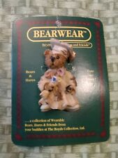 Boyds Bears And Friends Bearwear Pin, Bailey, The Graduate. Graduation Pin. 1995