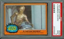 1977 Star Wars A Narrow Escape #278 PSA 9 Nice Centering