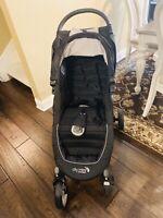 Baby Jogger City Mini Single Stroller - Black / Grey -  Gently Used