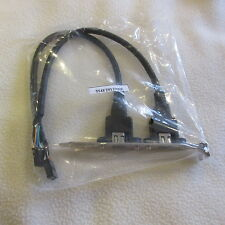 2-Port IEEE-1394a Firewire Dual 9-Pin Internal Motherboard Ribbon Cable Bracket