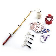 Yeah Racing 1/10 RC Crawler Camping Lamp, Fishing, Milk, Cards & Tools YA-0364