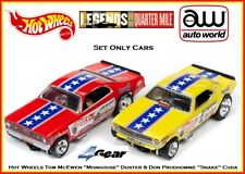 Auto World Hot Wheels Set Only Cars Don Snake Prudhomme vs. Mongoose Tom  McEwen