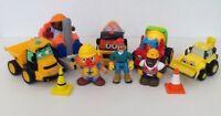 Toy Construction Vehicles Bundle. Toy Builder Pre-School Play Set.