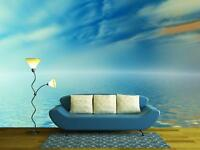 Wall26 - Surreal clouds reflected in water - CVS - 100x144 inches