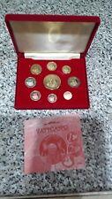 VATICANO 2005 - 9 MONNAIE EURO prototype Pattern Proof Set-GRATUIT UK p&p