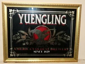 Yuengling America's Oldest Brewery Mirror Bar/Pub Sign - 27x21 - Mancave