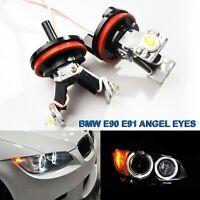 BIOENGIE Scheinwerfer 120W Angel Eyes Tagfahrlicht 6000K Xenon White F/ür E90 E92 E82 E60 E70 E71 E84