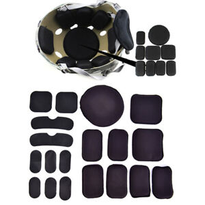 19Pcs/set Tactical Military Helmet Pads Hunting Helmet Protective Pad  ou
