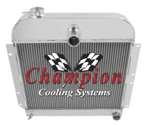 3 Row Performance Champion Radiator for 1941 - 1952 Plymouth Cars