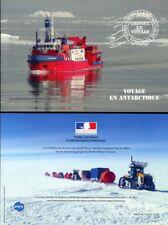 Frz. Antarktis TAAF FSAT 2013 Pinguine Stationen Schiffe Prestige-Markenheft MNH