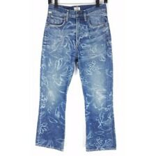 NEW Citizens of Humanity Women's Estella High Rise Ankle Flare Floral Jeans 28
