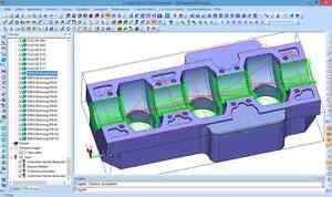 CAD CAM Software ,CNC-Simulation, CNC-Editor