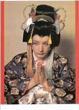 "BOY GEORGE (Culture Club) geisha magazine PHOTO / mini Poster 11x8"""