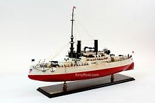 "USS Oregon BB-3 Indiana-class Battleship Model 34"" Scale 1:125 Museum Quality"