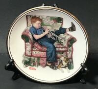 """""""Practice """" The Best Of Norman Rockwell - 1983 Miniature Collectors Plate"""