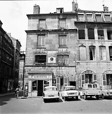 BESANÇON c. 1960 - Autos  Maison des Frères Lumière - Négatif 6 x 6 - N6 BFC6