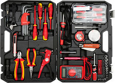 Elektriker Werkzeug Koffer Tasche Schraubendreher Werkzeugkasten Satz Set 68