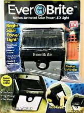 Ever Brite LED Light Motion-Activated Solar Power & Wireless Garden Outdoor