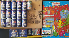 More details for stay puft marshmallow porter collectors cans with tiny rebel advent calendar gb