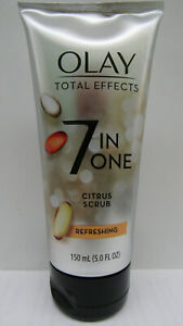 OLAY Total Effects 7 In One Citrus Scrub Cleanser 5OZ ***BUY MORE & SAVE MORE***