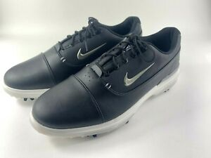 Nike Air Zoom Victory Pro Golf Shoes Leather AR5577-001 Black Men's Size 12 New