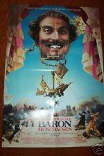 ADVENTURES OF BARON MUNCHAUSEN 1989 folded Movie POSTER