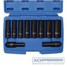 BGS 5206 - Llave de impacto 10 Piezas Set tubulares hexagonal 10-24mm