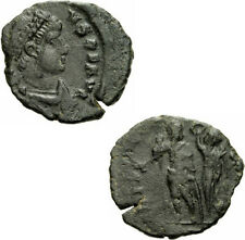 Arcadius aes III Antioquía (?) 395-401 virtvs exerciti victoria emperador Ric 70