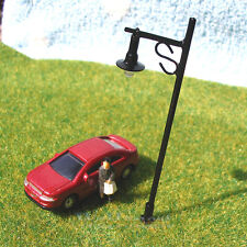 25 pcs OO gauge Model Lampposts 12V Scenery Lamps Metal Street Lights #R34-7