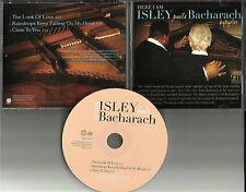 RONALD ISLEY & BURT BACHARACH 3 TRX Sampler PROMO DJ CD Single 2003 Brothers