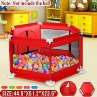 Children Baby Kids Playpen Play Pens Safety Room Divider Toddler Creeping Yard