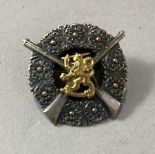 Finland WW II Finnish Army SA Rifle Shooting Badge 1st Class