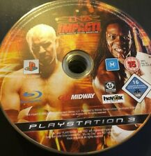 TNA Impact (Sony PlayStation 3, 2008) - Disc Only