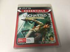 PS3 GAME UNCHARTED: DRAKES FORTUNE