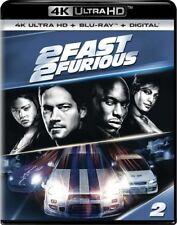 2 FAST 2 FURIOUS    (4K ULTRA HD ) - Blu Ray -Region free