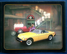 Prospekt brochure 1980 MG MGB (USA)