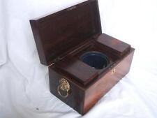 Boxes 1900-1940 Antique Wooden Tea Caddies